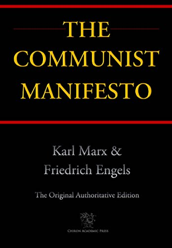 "The cover of ""The Communist Manifesto."""