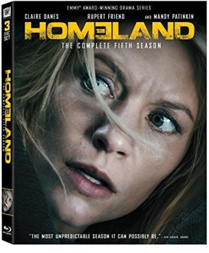 Homeland Season 5 [Blu-ray] DVD