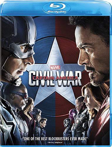 Marvel's Captain America: Civil War Blu-ray
