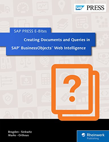Business Objects Tutorial Pdf