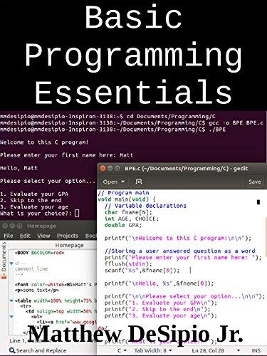 Language html pdf programming