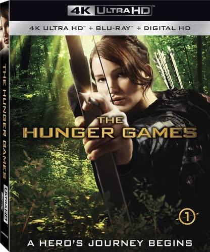 Hunger Games [4K Ultra HD + Blu-ray + Digital HD] DVD