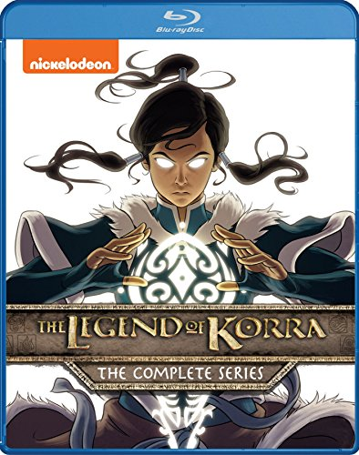 Legend of Korra: The Complete Series Blu-ray