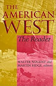 The American West: The Reader de Walter…