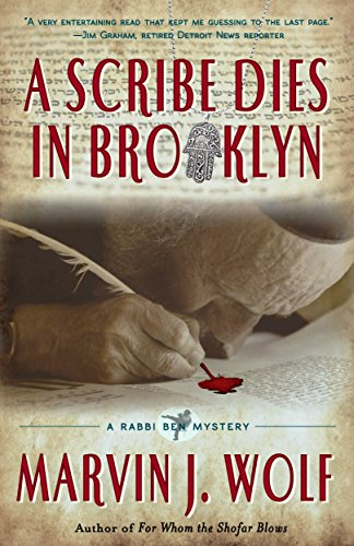 Book Cover - A Scribe Dies In Brooklyn