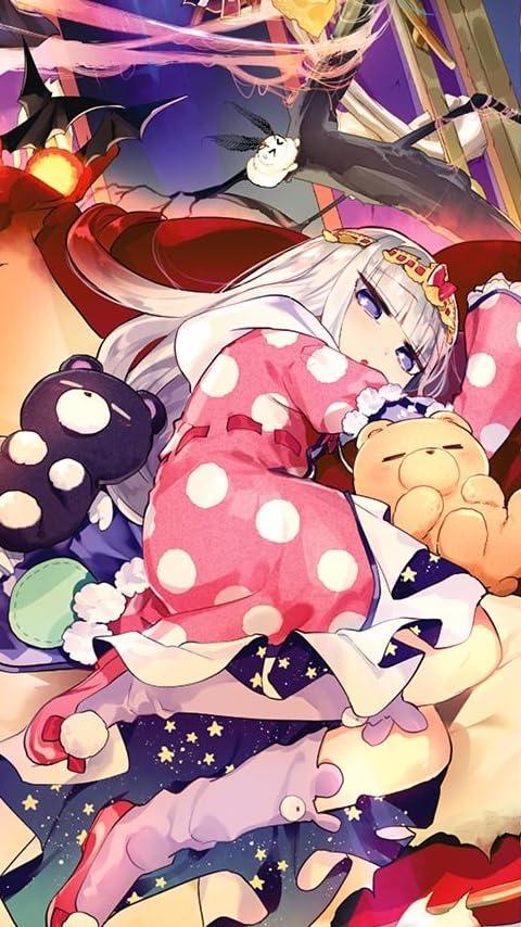 魔王城でおやすみ オーロラ・栖夜・リース・カイミーン XFVGA(480×854)壁紙画像