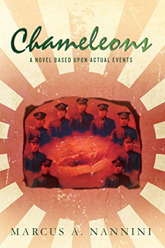 Book Cover - Chameleons, A Novel Based Upon Actual Events