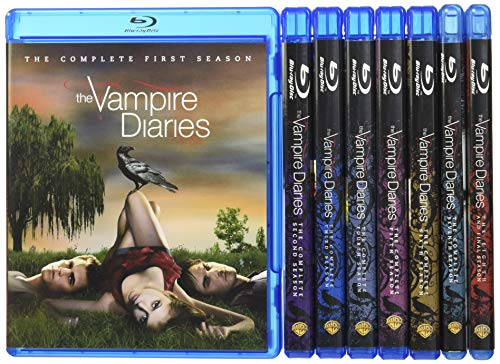 The Vampire Diaries: The Complete Series 1-8  DVD