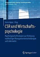 CSR und Wirtschaftspsychologie:…