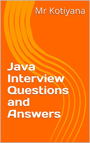 Java Interview Question With Answer Pdf