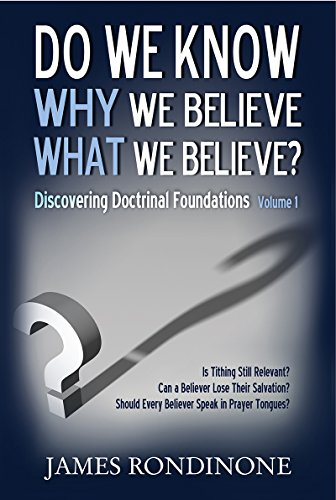 Book Cover - Do we know WHY we believe WHAT we believe?