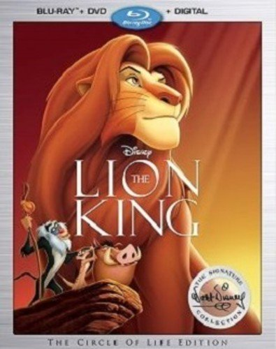 Lion King: Walt Disney Signature Collection Blu-ray