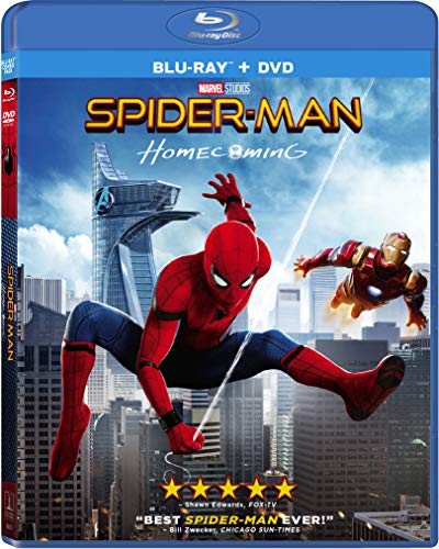Spider-Man Homecoming Combo Pack Blu-ray