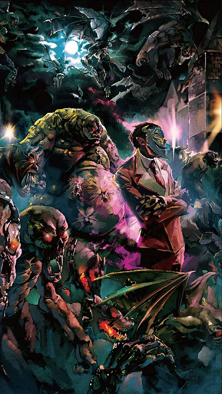 オーバーロード ヤルダバオト(デミウルゴス)と悪魔の軍勢 HD(720×1280)壁紙画像