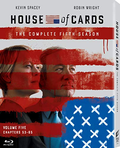 House of Cards: Complete Fifth Season [Blu-ray] DVD