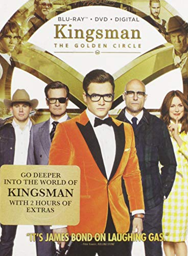 Kingsman: The Golden Circle [Blu-ray] DVD