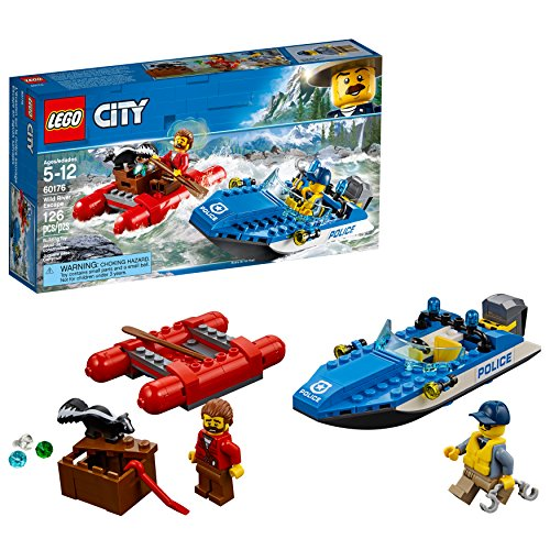 LEGO City Police Wild Riverエスケープ60176建物キット( 126 Piece )