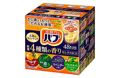【大容量】バブ 厳選4種類の香りセレクトBOX