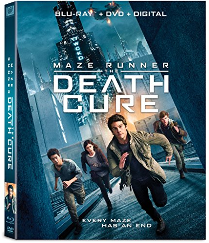 Maze Runner: The Death Cure Blu-ray