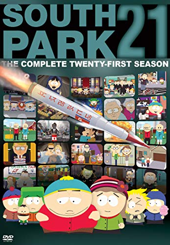 South Park: The Complete Twenty-First Season DVD