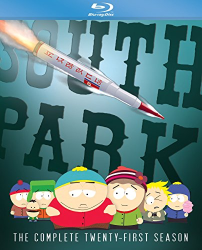 South Park: The Complete Twenty-First Season [Blu-ray] DVD