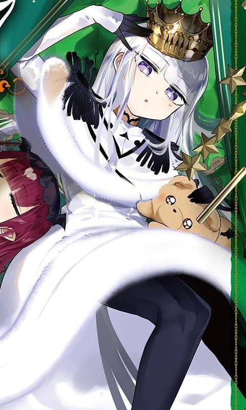 魔王城でおやすみ オーロラ・栖夜・リース・カイミーン FVGA(480×800)壁紙画像