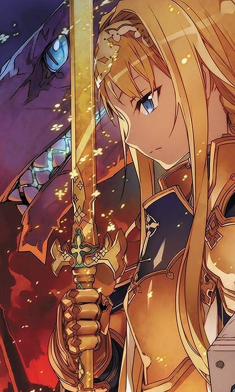 ソードアートオンライン アリスと金木犀の剣 FVGA(480×800)壁紙画像