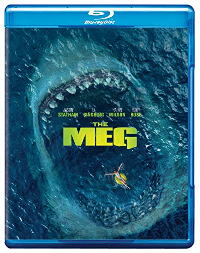 Meg, The Blu-ray