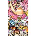 ONE-PIECE iPhone SE/8/7/6s(750×1334)壁紙 ビッグマム,コンポート,モンドール,スムージー,カタクリ