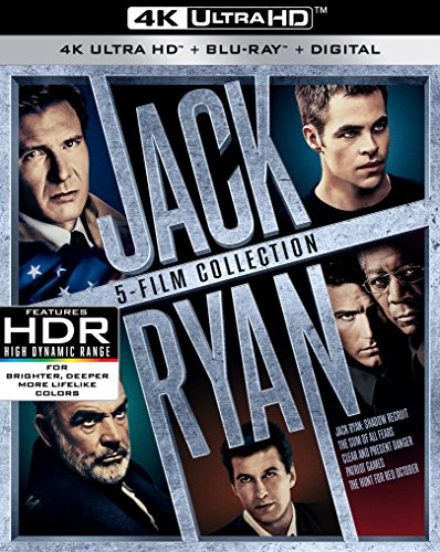 Jack Ryan 5-Film Collection UHD [Blu-ray]