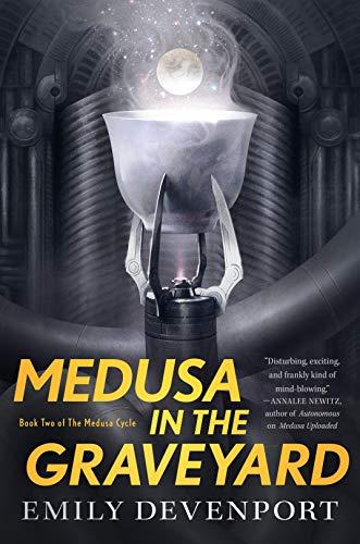 Medusa in the Graveyard by Emily Devenport