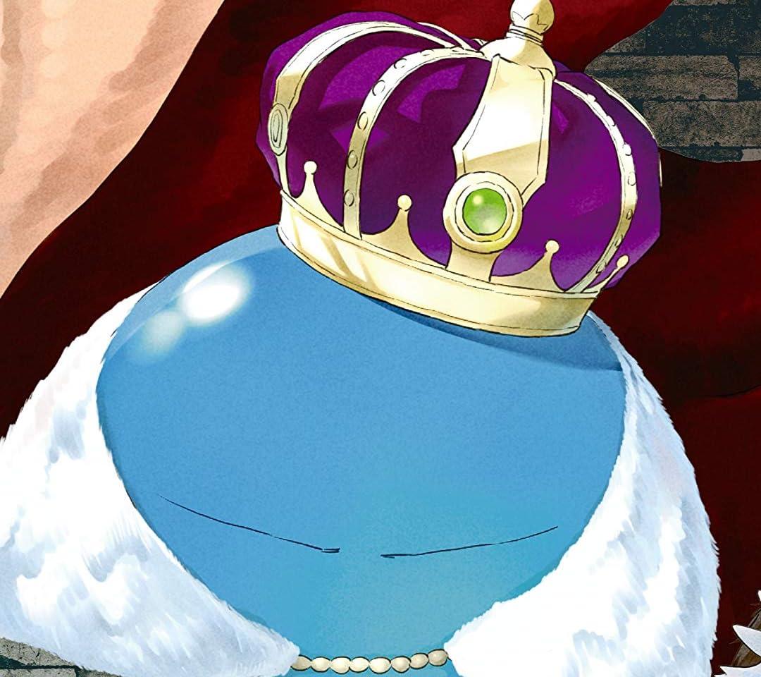 転生したらスライムだった件 リムル 王冠つき QHD(1080×960)スマホ 壁紙・待ち受け