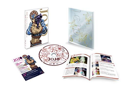 ジョジョの奇妙な冒険 黄金の風 Vol.5 (17~20話/初回仕様版) [Blu-ray]