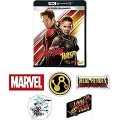 【Amazon.co.jp限定】アントマン&ワスプ 4K UHD MovieNEX(3枚組) ステッカー5枚セット [Blu-ray]