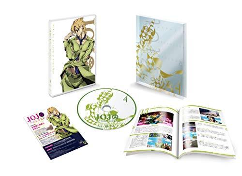 ジョジョの奇妙な冒険 黄金の風 Vol.4 (13~16話/初回仕様版) [Blu-ray]