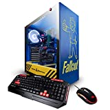 iBUYPOWER Fallout Pro Limited Edition Gaming PC Computer Desktop(Intel i7 8700K 3.7GHz, NVIDIA GeForce RTX 2080 8GB, 16GB DDR4-2666 RAM, 1TB SSD, WiFi Included, Liquid Cooled, Win 10 Home) Blue