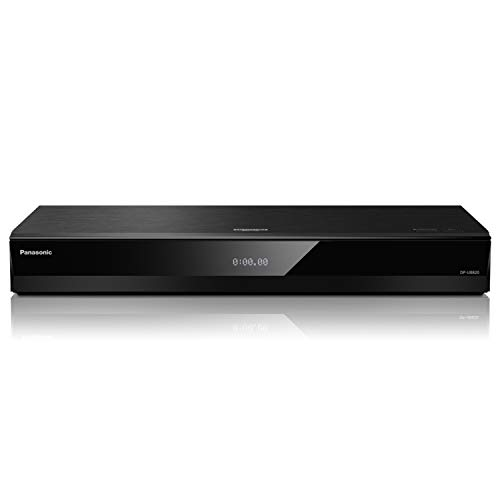 Panasonic 4K Ultra HD Player with HDR10+ & Dolby Vision Playback, Hi-Res Sound, 4K VOD Streaming - Black