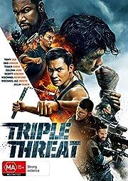 Triple Threat DVD   Region 4 av Tiger Chen…