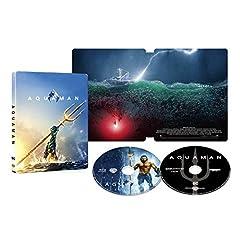 アクアマン スチールブック仕様 4K ULTRA HD&ブルーレイセット (限定生産/2枚組) [Blu-ray]