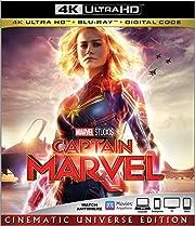 CAPTAIN MARVEL [Blu-ray] de Brie Larson