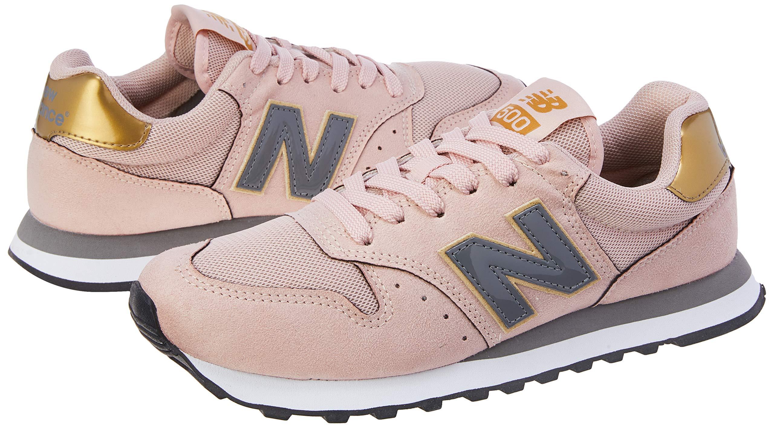 Tênis New Balance, 500, Feminino, Preto HGB, 34