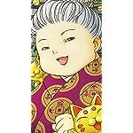 ふしぎ駄菓子屋 銭天堂 iPhoneSE/5s/5c/5 壁紙 視差効果 墨丸(すみまる),紅子