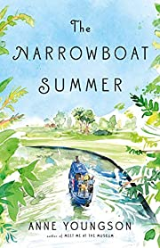 The Narrowboat Summer door Anne Youngson