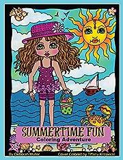 Summertime Fun: Summertime fun coloring…