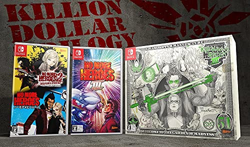 ノーモアヒーローズ3 キリオン ダラー トリロジー(No More Heroes 3 KILLION DOLLAR TRILOGY)【Nintendo Switch】