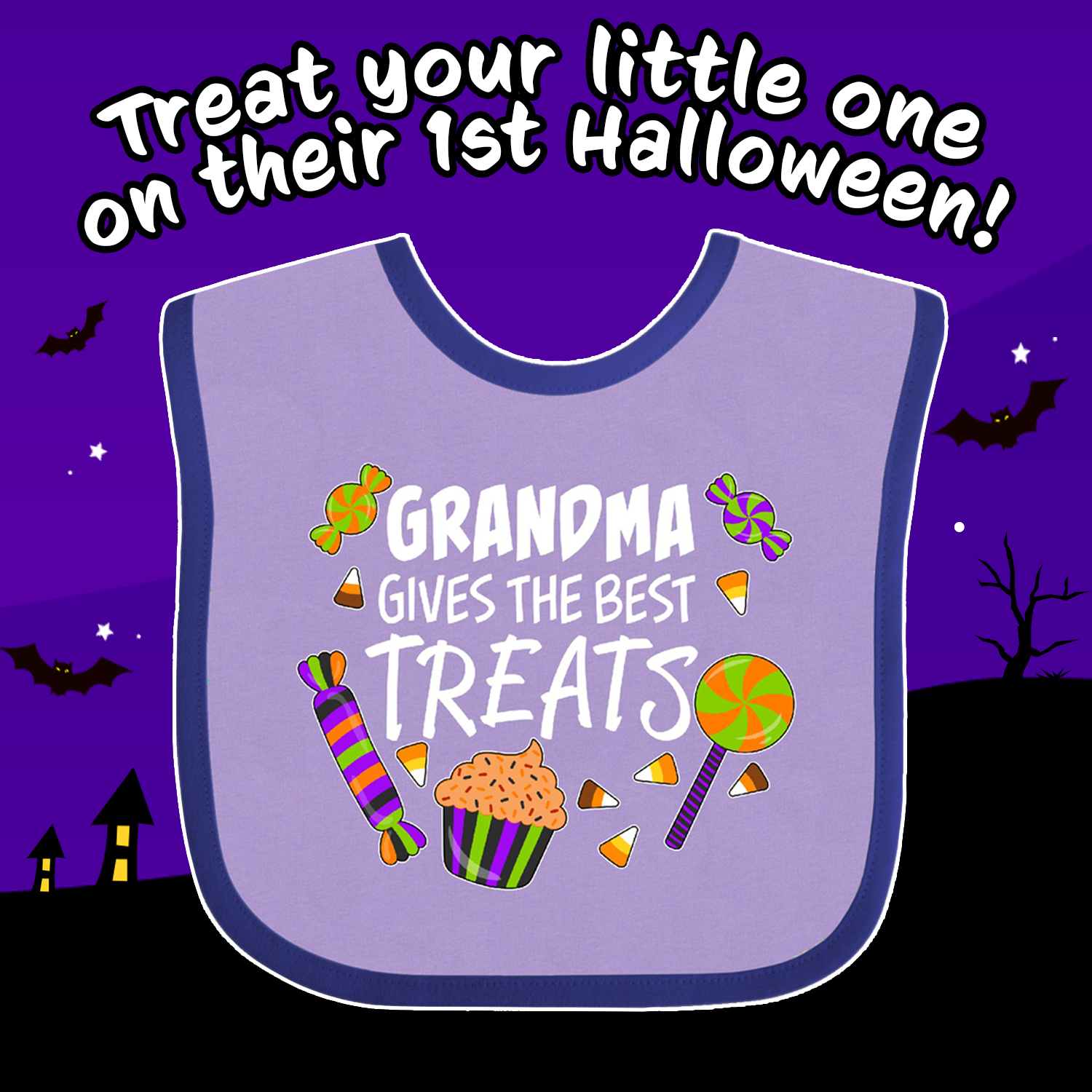 inktastic Gramma is My Boo with Cute Ghost Infant Tutu Bodysuit