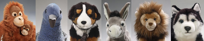 17 x 13 inches Stuffed Animal 2782 Imberi . Carl Dick Batoidea Plush Toy 44 x 32cm Soft Toy Grey Stingray