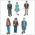 Disney Tomorrowland Set of 6 Figures