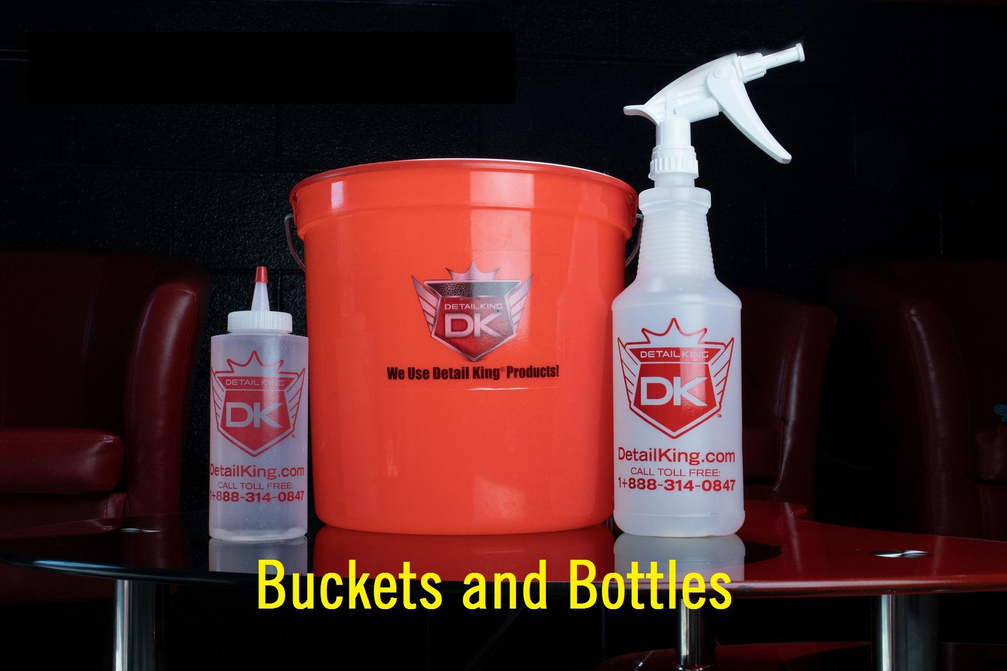 Detail King 2.5 Gallon Bucket /& Organizer