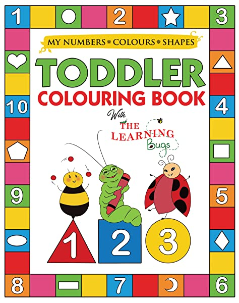 3 Books ABC, 123 and First Word book Coloring /& Activity Book Set Kids-